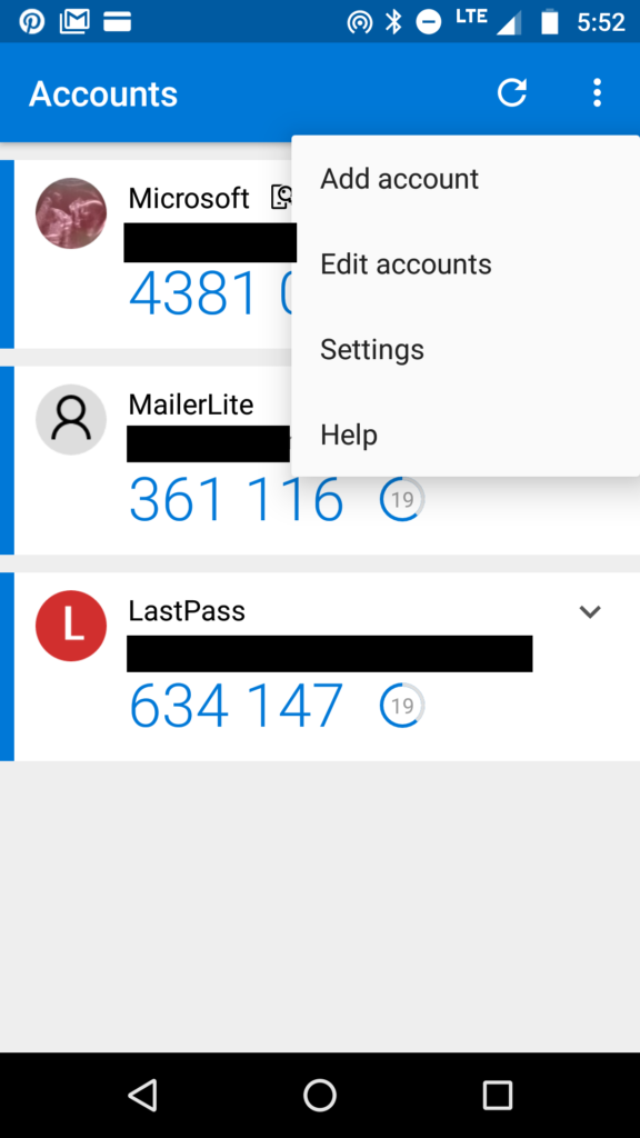 How to use LastPass: setting up Google Authenticator