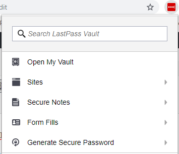 How to use LastPass: add site