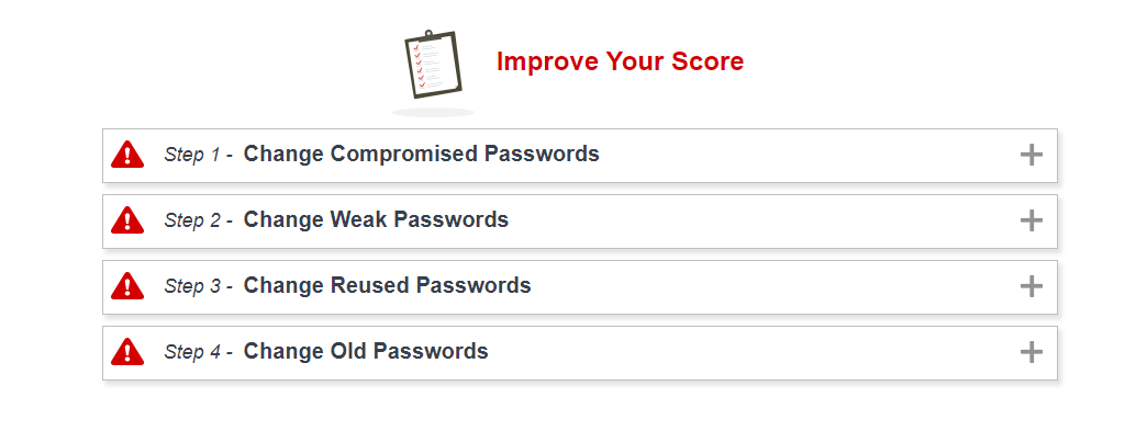 How to use LastPass: security challenge results