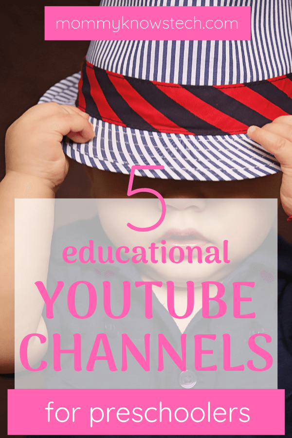 Need a quick go-to list of educational YouTube channels for your preschooler? Look no further! Here are our top 5 choices.