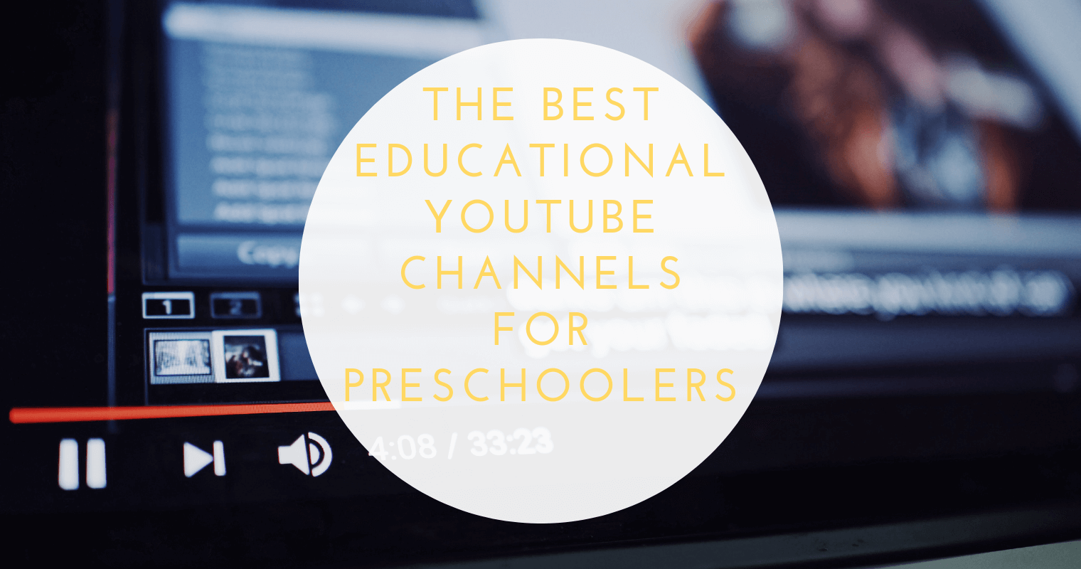 Need a quick go-to list of clean, educational YouTube channels for your preschooler? Look no further!