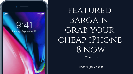 grab this limited time iPhone offer while supplies last!