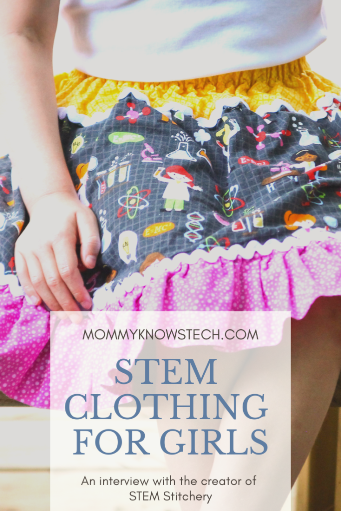 Looking for fun and functional STEM clothing for your budding scientist? Look no further than STEM Stitchery. These adorable skirts and dresses will let your little scientist wear her heart on her sleeve. Read this post to learn more about the company and its values and where you can buy your own handmade STEM clothing.