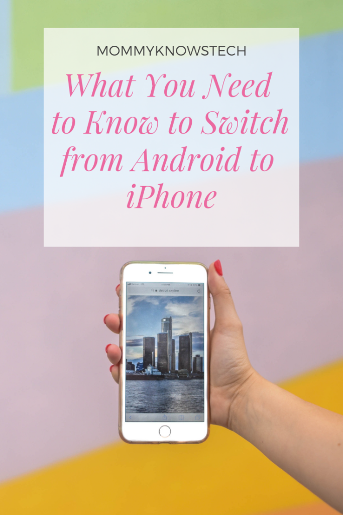If you've been an Android user and are considering the switch from Android to iPhone, there are some things you'll want to know...  Like, how easy is it to make the switch? What features will you miss? What will you like better about the iPhone?  Read on for answers to those questions and more!