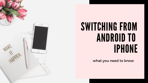 If you're thinking about making the switch from Android to iPhone, here are a few things you'll want to know first.