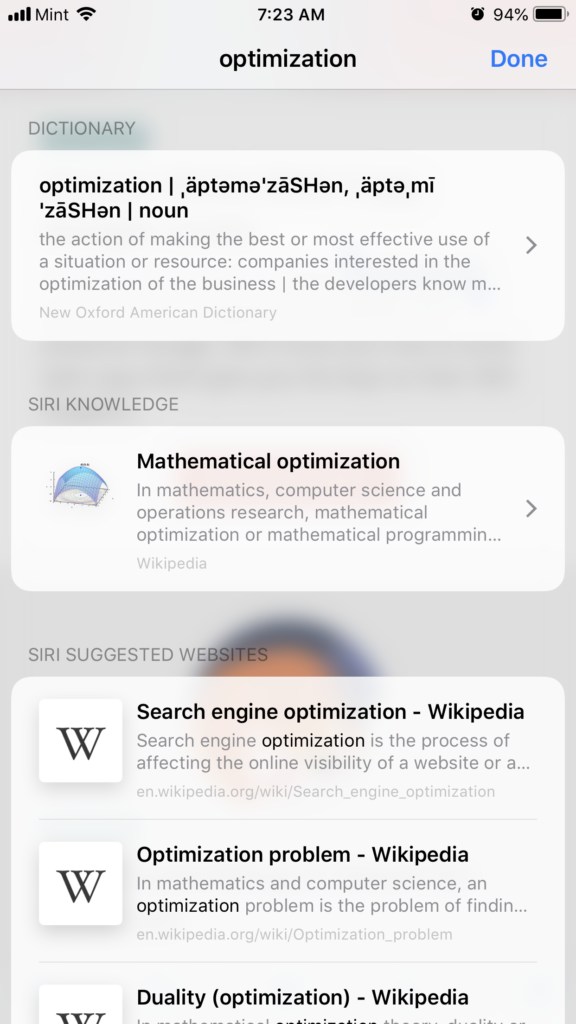 Optimize your learning by looking things up as you go.