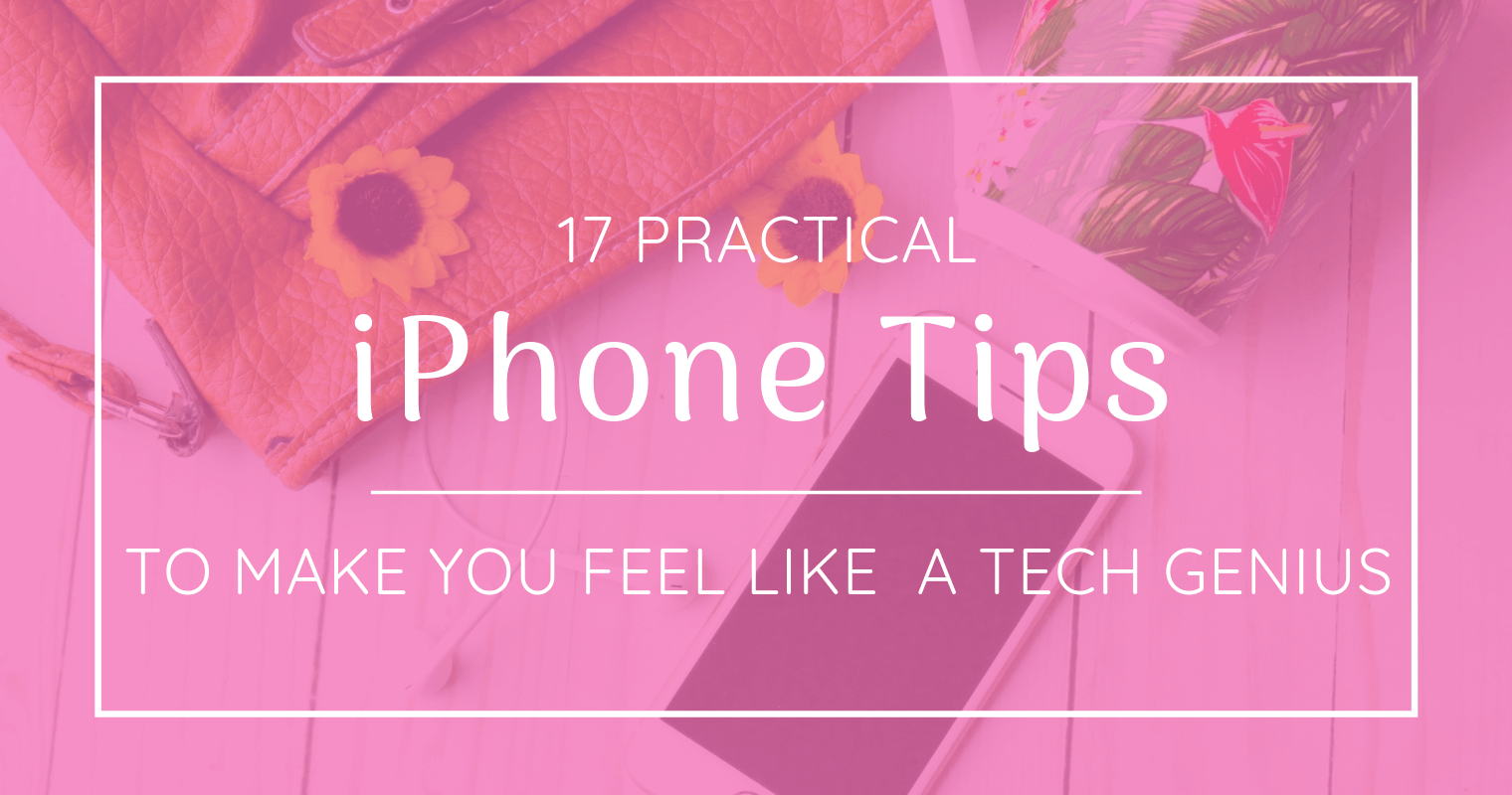 These 16 tips will have you feeling like an old pro with your iPhone in no time.