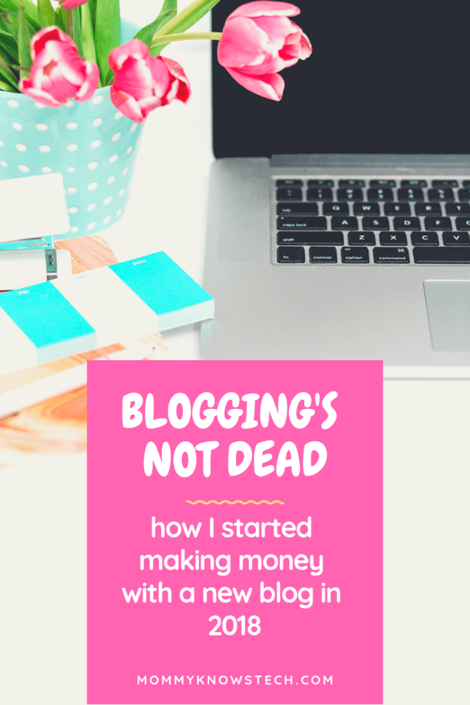 "The ""experts"" like to say that blogging is dead. But I don't believe it. Here's how I started making a little money with a blog I started in 2018... and how you can do it too."