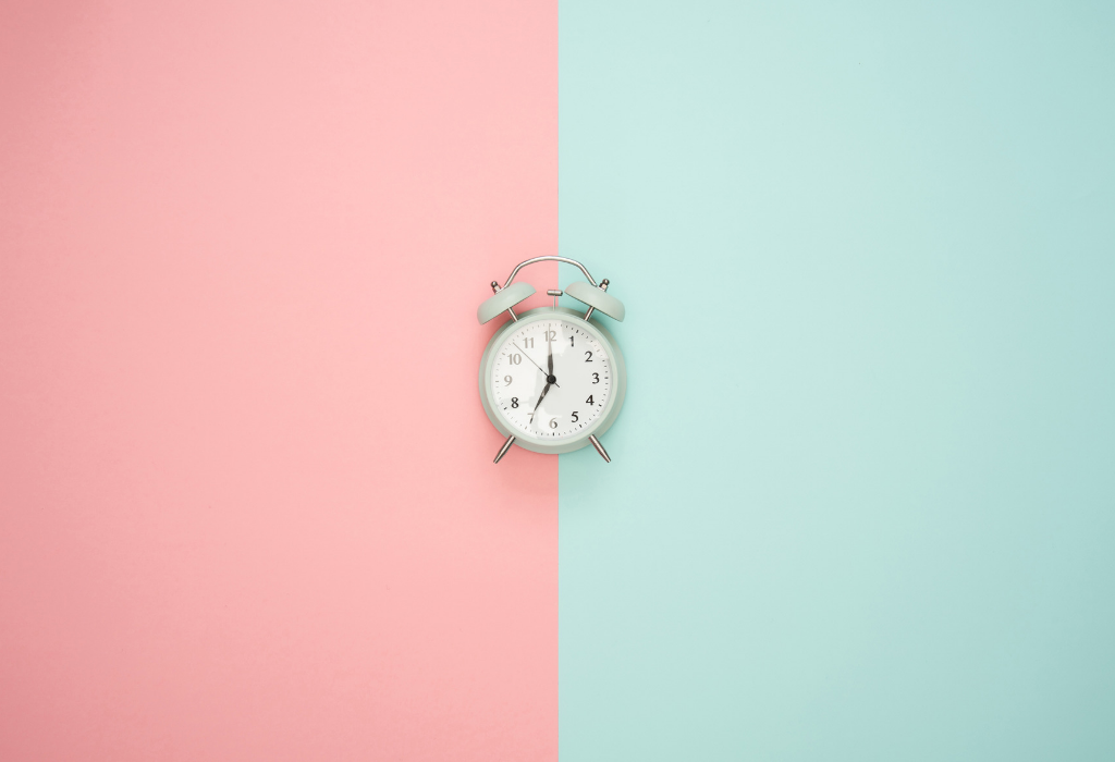 Set time limits for yourself to manage your technology use.