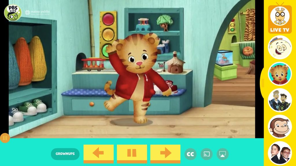 PBS Kids is one of our favorite YouTube alternatives. My son loves Daniel Tiger, and I like the lessons he learns.