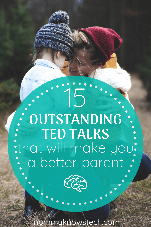 TED Talks are amazing for challenging your thinking and introducing you to new ideas. These 15 TED Talks for parents will inspire you and help you become a better parent.
