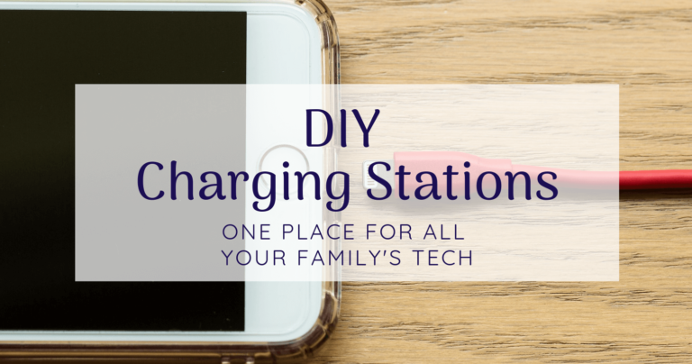 29 Awesome DIY Charging Stations for All Your Tech