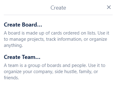 Trello makes it easy to share your boards with your team--or anyone else.