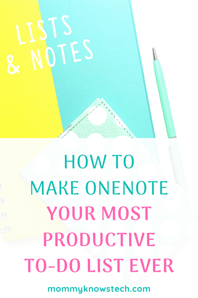 A OneNote to-do list is one of the simplest and smartest ways to increase your productivity. Here's how I use mine to get things done, even as a busy mom.