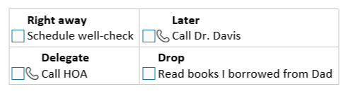 Segmenting your OneNote to-do list by priority is one of the best ways to keep your productivity high.