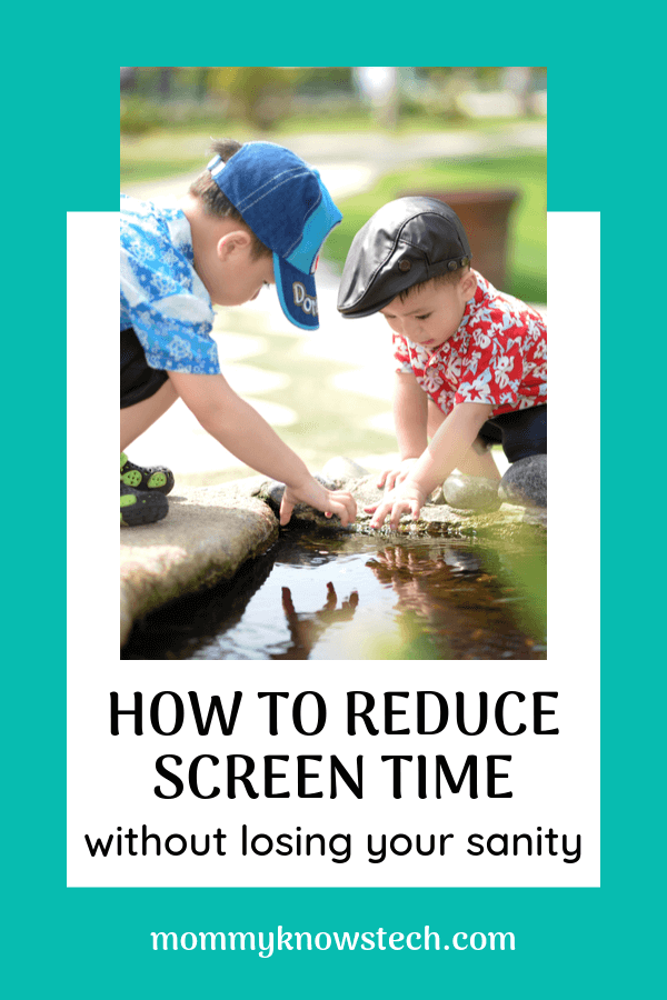Need help to reduce screen time? Does raising a low-media child sound like an unreachable ideal? Wonder how you'll stay productive if you turn off the screens? Here are 5 proven strategies for staying productive and sane while reducing screen time.