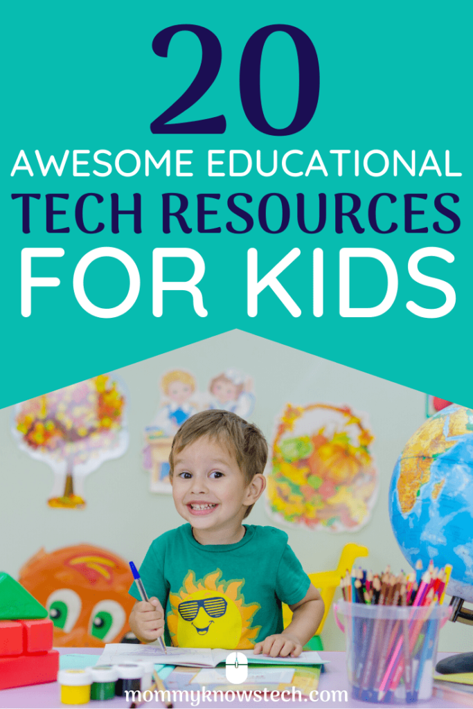 Running out of things to do with your kids at home? Check out this great list of educational tech resources that you and your kids will love. Spark your child's interest in science, math, art, foreign language, and reading with these fun apps, websites, and videos.
