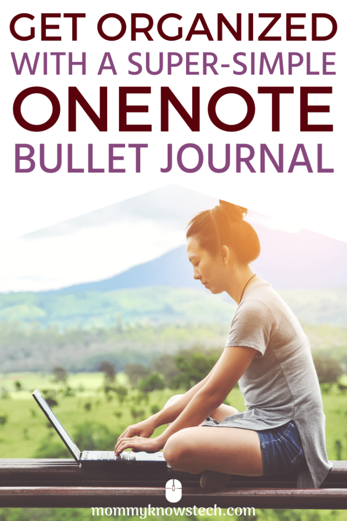 Looking to get your life organized but aren't sure where to start? Check out this OneNote bullet journal system that has helped me make order out of the chaos.