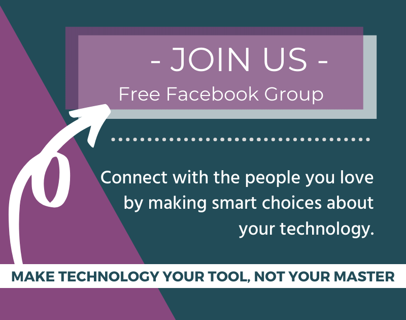 Join us in the free Facebook group to launch your intentional-living journey!
